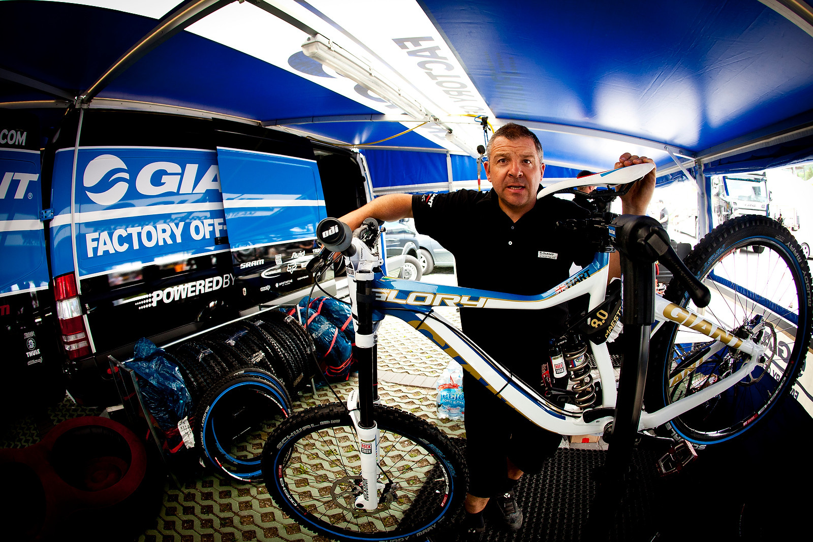 Danny Hart's Giant Glory at Val di Sole - 2012 UCI World Cup, Val di Sole Day 1 - Mountain Biking Pictures - Vital MTB