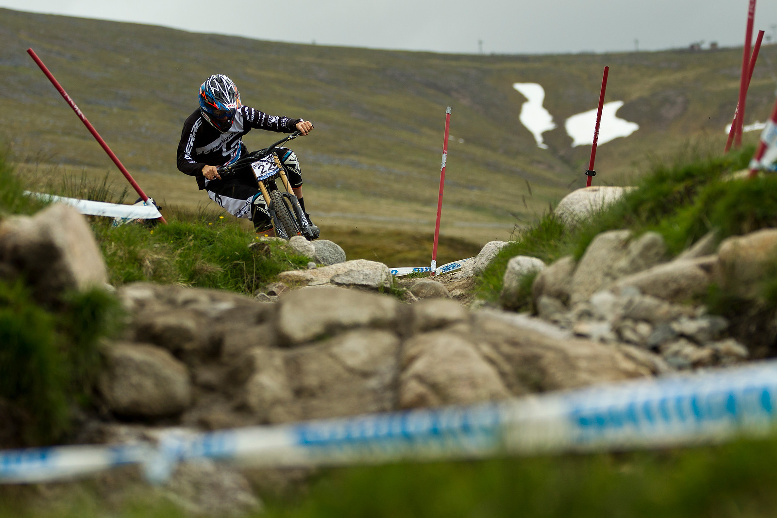 Sam Blenkinsop, Loose at Fort William - 2012 UCI World Cup, Fort WIlliam Scotland, Day 2 - Mountain Biking Pictures - Vital MTB