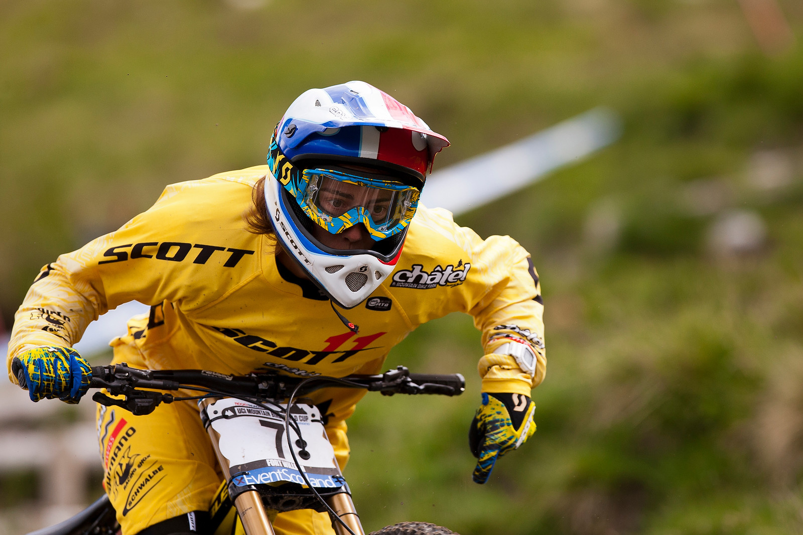 Floriane Pugin at Fort William - 2012 UCI World Cup, Fort WIlliam Scotland, Day 2 - Mountain Biking Pictures - Vital MTB