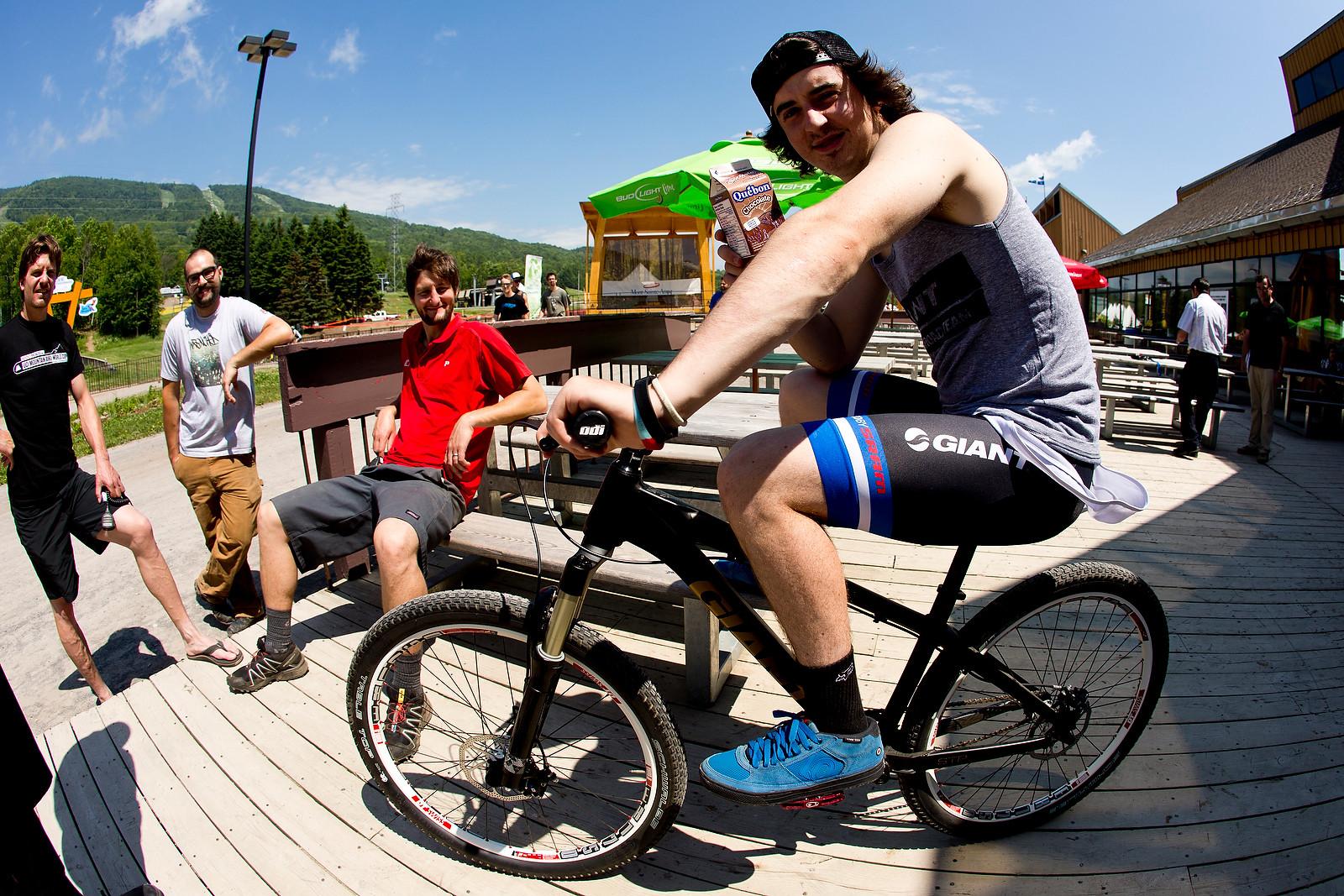 Danny Hart at Mont Sainte Anne 2012 - 2012 UCI World Cup, Mont Sainte Anne, Day 1 - Mountain Biking Pictures - Vital MTB