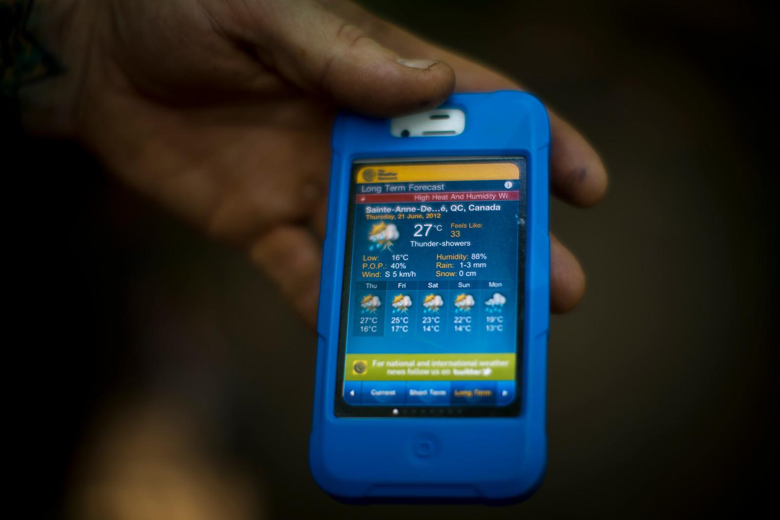 2012 Mont Sainte Anne Weather Forecast - 2012 UCI World Cup, Mont Sainte Anne, Day 1 - Mountain Biking Pictures - Vital MTB