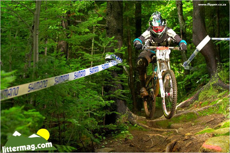 Aaron Gwin, Mont Sainte Anne, 2008 - 2012 UCI World Cup, Mont Sainte Anne, Day 1 - Mountain Biking Pictures - Vital MTB