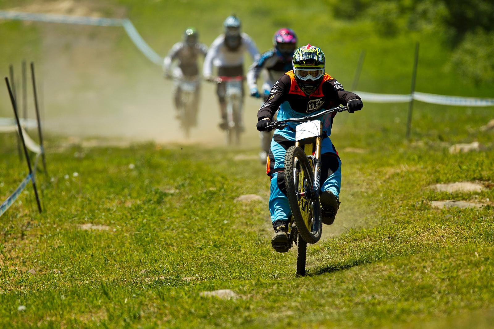 Brendan Fairclough Jamming Everyone Up - 2012 UCI World Cup, Mont Sainte Anne, Day 2 - Mountain Biking Pictures - Vital MTB