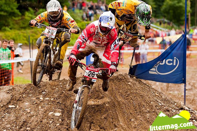 Wyn Masters and Brook MacDonald - 2009 UCI World Cup Maribor - Day 3 - Mountain Biking Pictures - Vital MTB