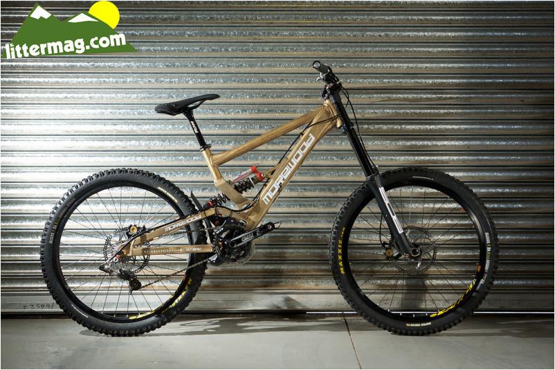 Prototype with BOS suspension - Morewood Bikes Factory Tour - Mountain Biking Pictures - Vital MTB