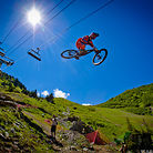 Brandon Semenuk Qualifies First at Chatel Mountain Style 2012