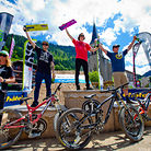 2012 Chatel Mountainstyle Podium, Semenuk on Top