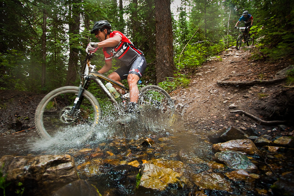 Splashing at the Master of the Mass Enduro - 2012 Master of the Mass Enduro Race - Mountain Biking Pictures - Vital MTB