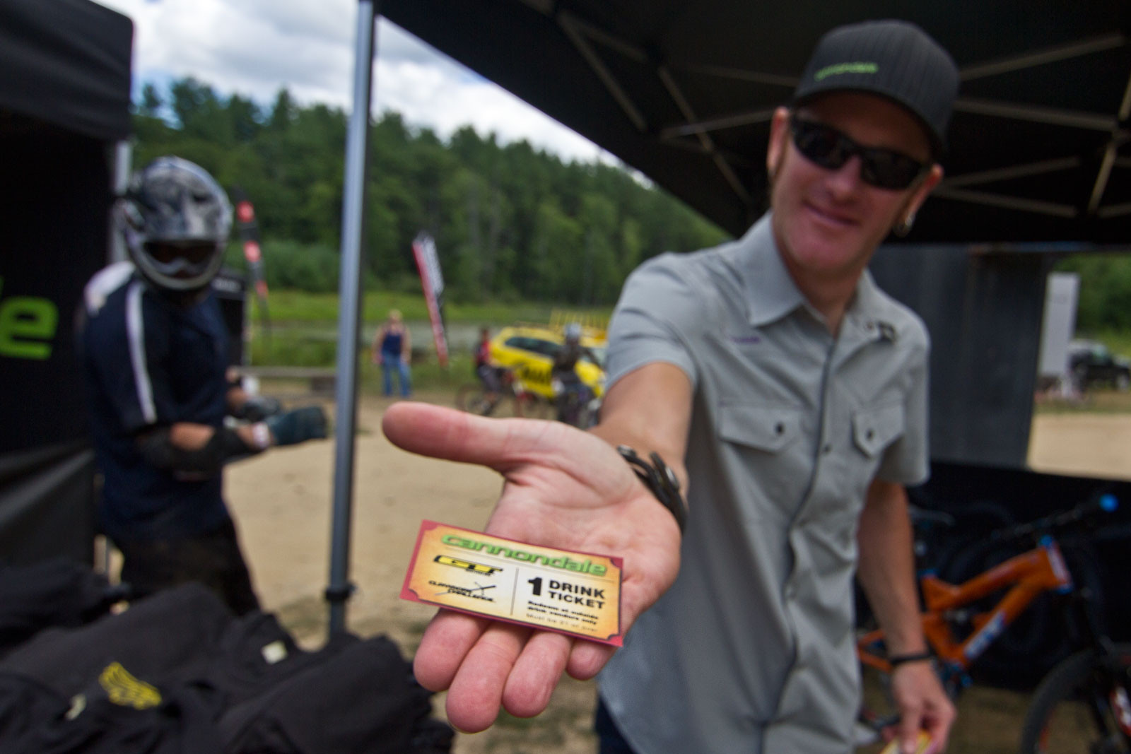Cannondale Drink Tickets - Semenuk Does It Again and Wins the 2012 Claymore Challenge - Mountain Biking Pictures - Vital MTB