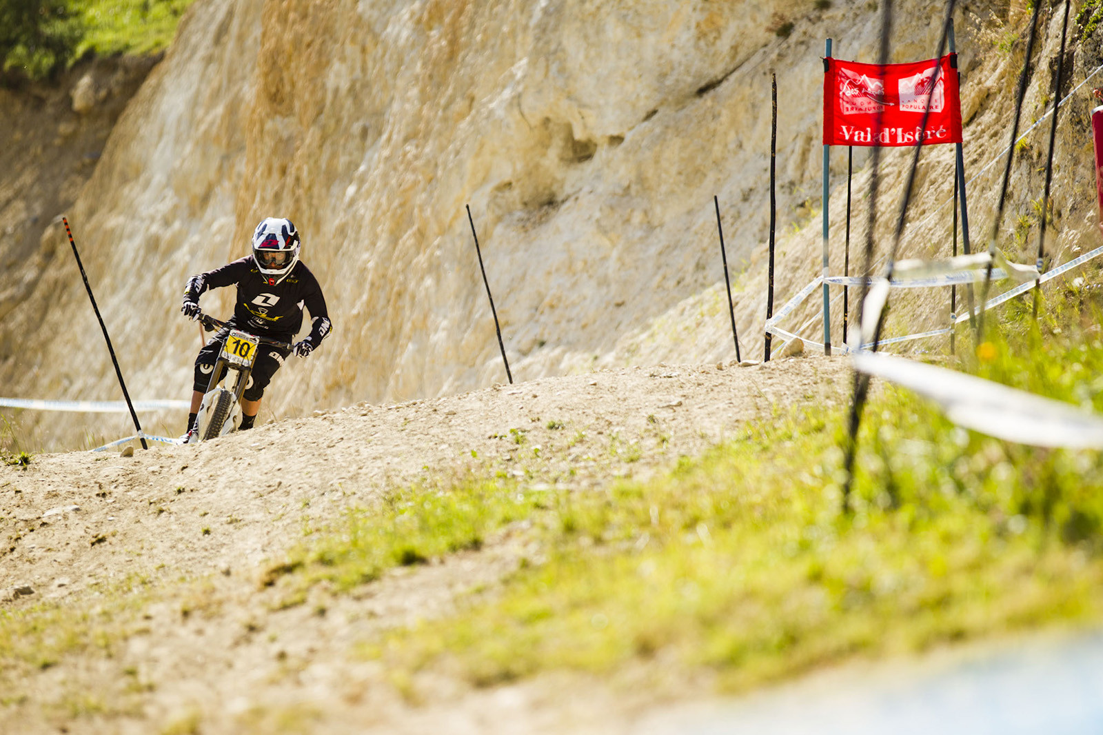 Marc Beaumont, Wide Open at Val d'Isere - 2012 UCI World Cup, Val d'Isere, France, Day 2 - Mountain Biking Pictures - Vital MTB