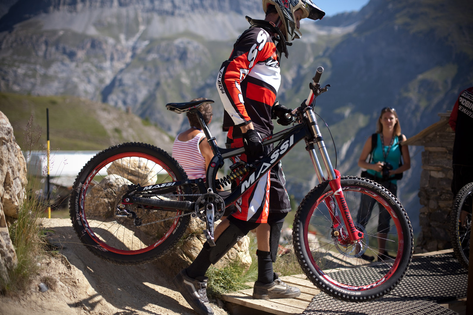 European DH Bikes from Val d'Isere - Massi Toro DH - European DH Bikes from Val d'Isere - Mountain Biking Pictures - Vital MTB