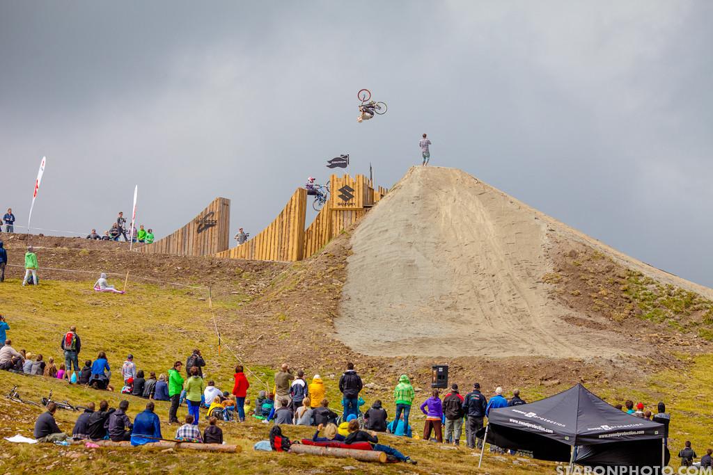 Nine Knights Slopestyle Contest Finals - Nine Knights Slopestyle Finals - Mountain Biking Pictures - Vital MTB