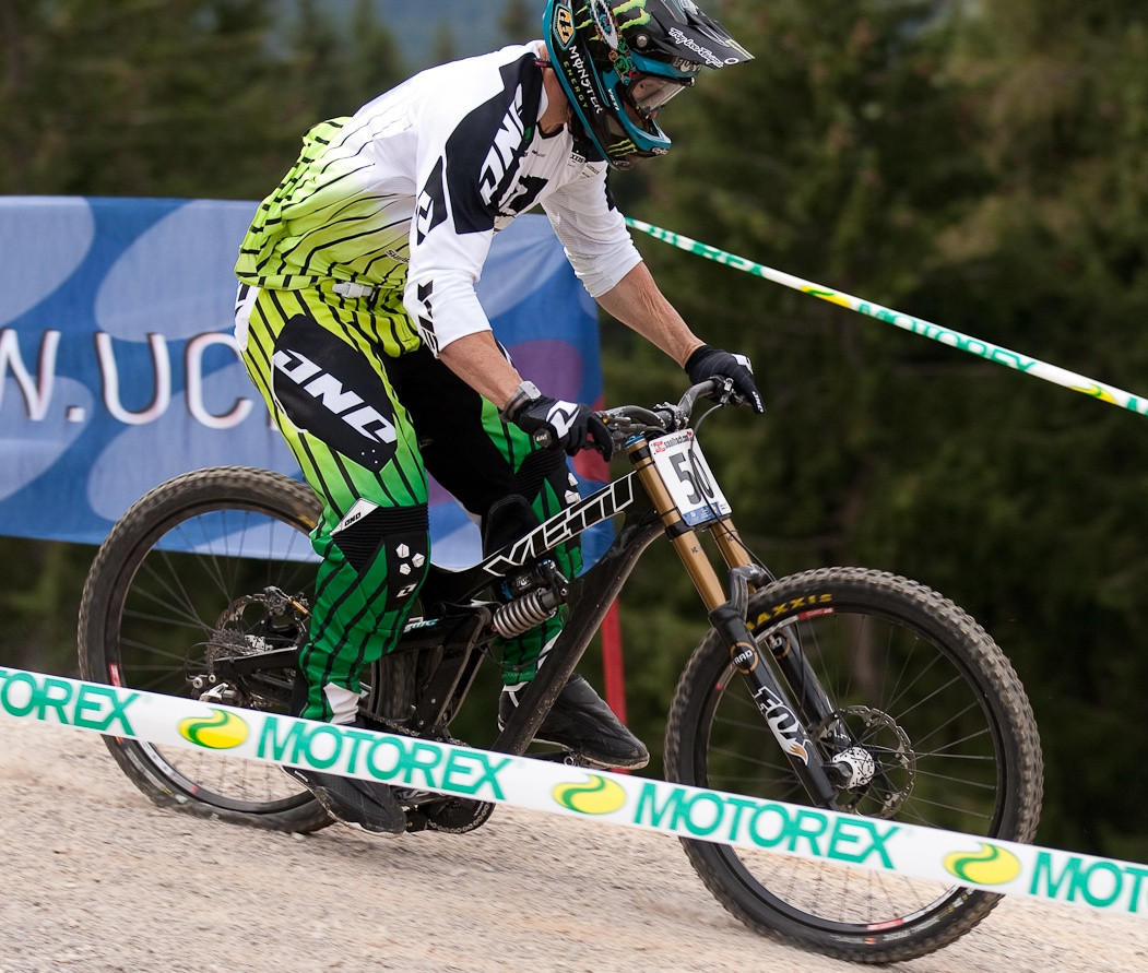 Jared Graves Bottomed Out at World Champs on his Yeti 303DHc - G-Out Project: WORLD CHAMPS IN LEOGANG! - Mountain Biking Pictures - Vital MTB