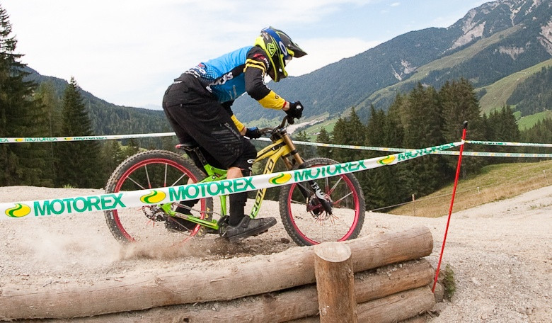 Bryn Atkinson's Norco Aurum Bottomed Out at World Champs - G-Out Project: WORLD CHAMPS IN LEOGANG! - Mountain Biking Pictures - Vital MTB