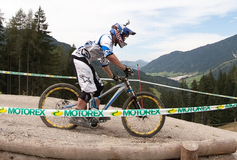 Brook MacDonald's Mondraker Bottomed Out at World Champs - G-Out Project: WORLD CHAMPS IN LEOGANG! - Mountain Biking Pictures - Vital MTB
