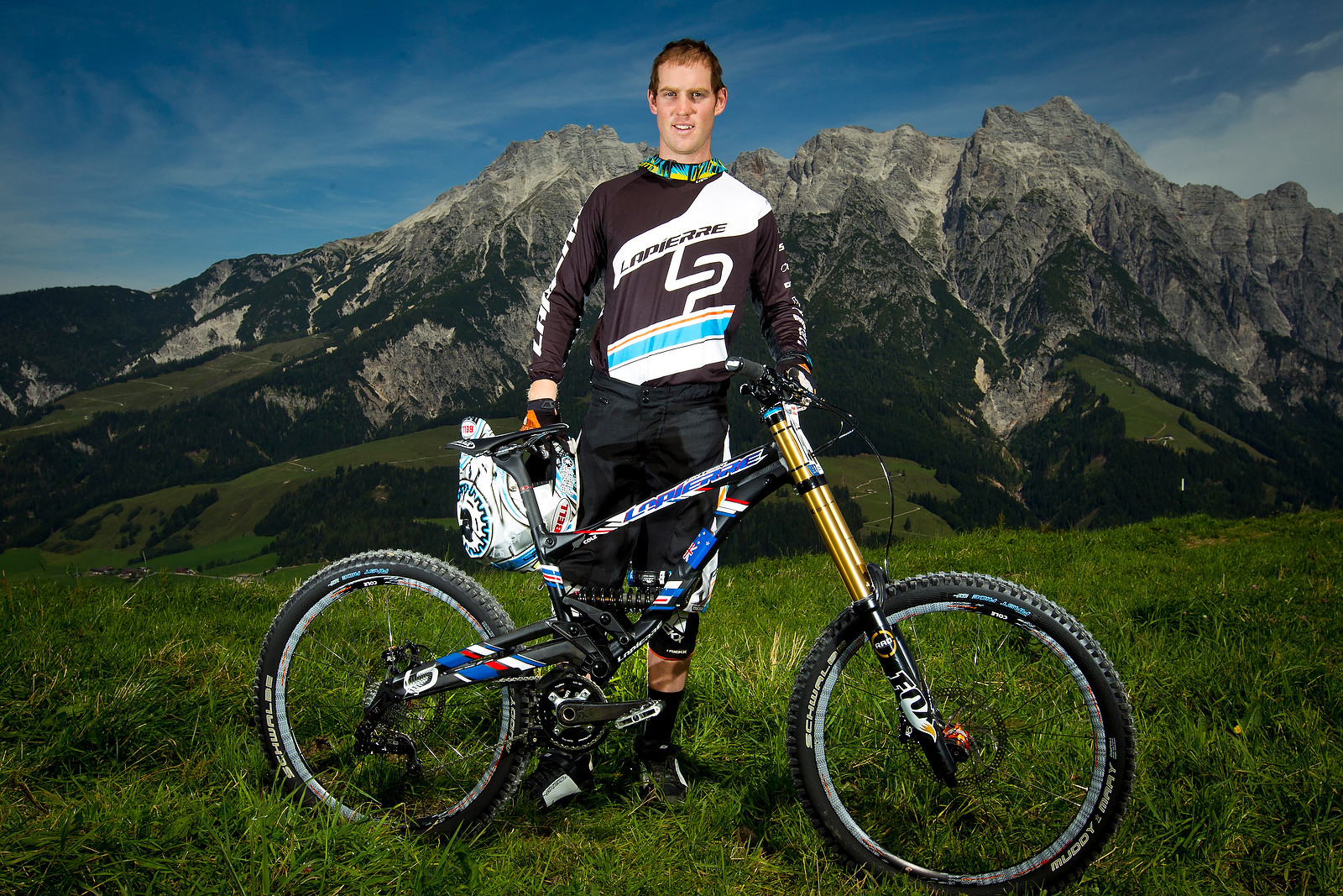Cam Cole and his Lapierre at World Champs - World Championships Riders and Bikes - Mountain Biking Pictures - Vital MTB