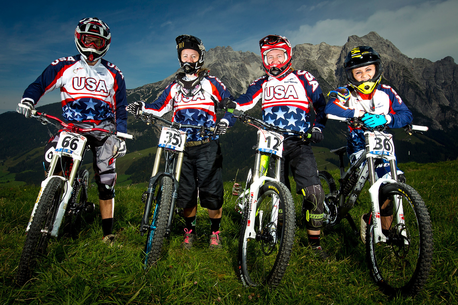 Team USA Riders - World Championships Riders and Bikes - Mountain Biking Pictures - Vital MTB