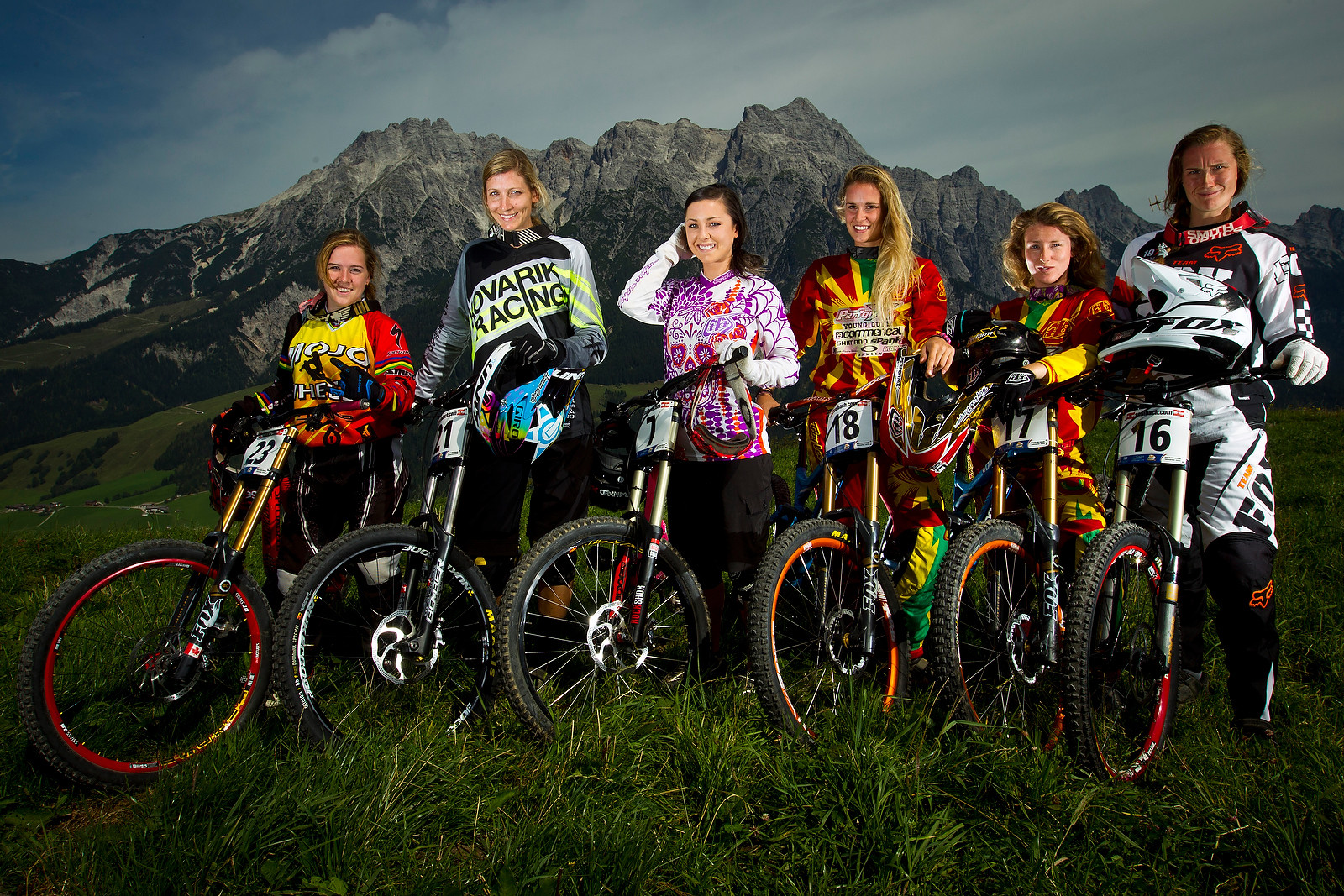 Canadian Hair Models - World Championships Riders and Bikes - Mountain Biking Pictures - Vital MTB