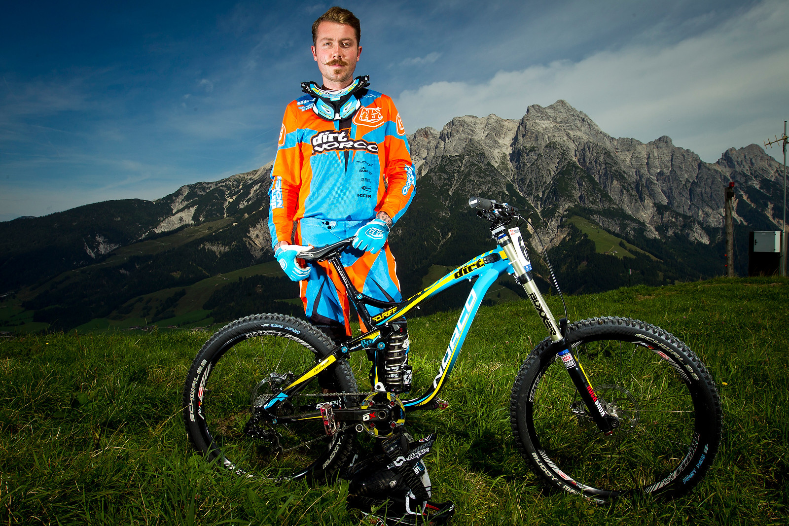 Duncan Riffle with his Norco Aurum - World Championships Riders and Bikes - Mountain Biking Pictures - Vital MTB