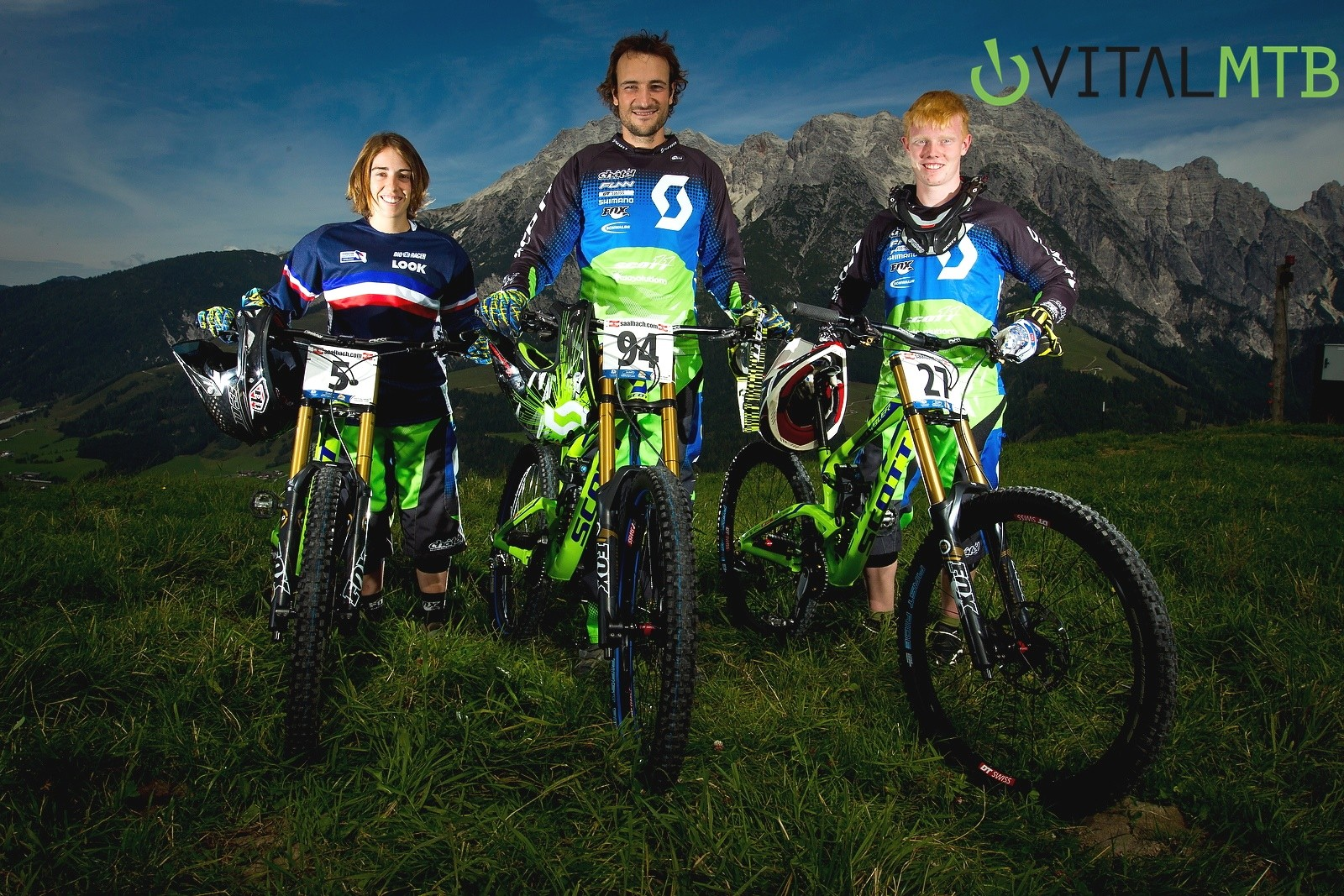 Scott 11 Team at World Champs Not Hiding Something - How Did You Miss It? - Mountain Biking Pictures - Vital MTB