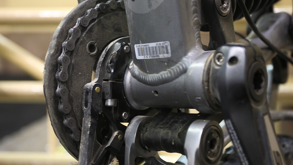 Clutch ISCG05 Adapter on a Giant Reign - 2013 Products from Interbike 2012, Part 1 - Mountain Biking Pictures - Vital MTB