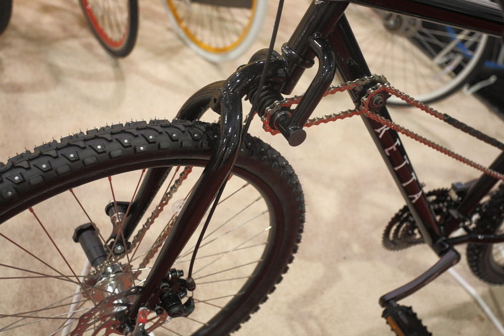 Two Wheel Drive Bike by Tretta - 2013 Products from Interbike 2012, Part 1 - Mountain Biking Pictures - Vital MTB