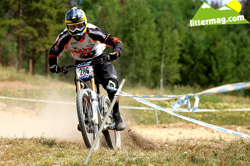 Luke Strobel, focused - 2009 U.S. National Championships Photo Feature - Mountain Biking Pictures - Vital MTB