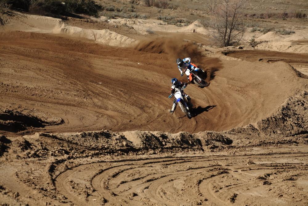 Austin Warren and Friend Battling - Vital MTB Motocross Day 2013 - Mountain Biking Pictures - Vital MTB