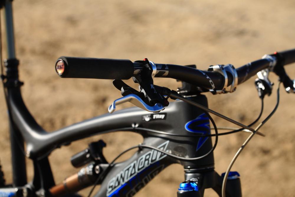 Mark Fitzsimmons' Santa Cruz Nomad - Vital MTB Motocross Day 2013 - Mountain Biking Pictures - Vital MTB
