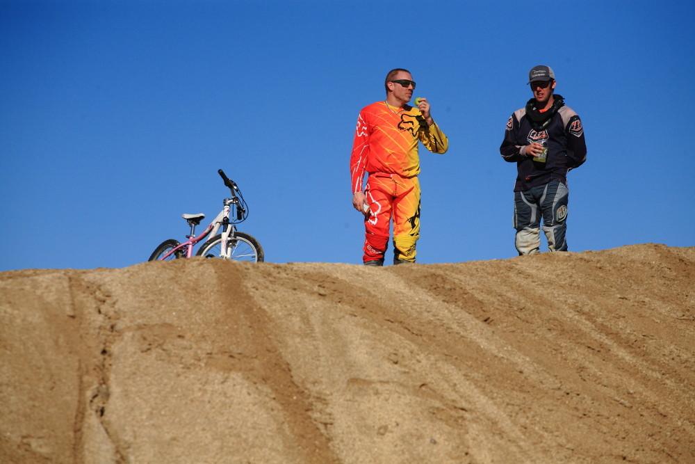 Matt Thompson and Drew Staveley - Vital MTB Motocross Day 2013 - Mountain Biking Pictures - Vital MTB