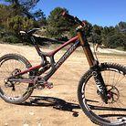 Greg Minnaar's 2013 Santa Cruz V10 Carbon Race Bike