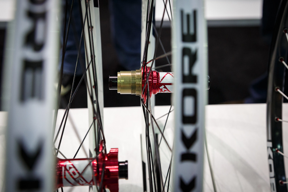 Kore Hubs and Wheels with XX1 Compatibility - 2013 Taipei Bike Show Day 1 - DVO, X-Fusion, iXS, Evoc and more - Mountain Biking Pictures - Vital MTB