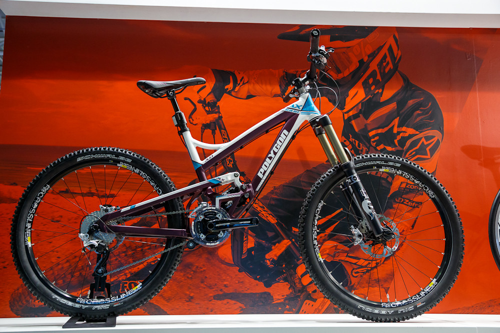 Polygon All-Mountain Bike - 2013 Taipei Bike Show Day 1 - DVO, X-Fusion, iXS, Evoc and more - Mountain Biking Pictures - Vital MTB