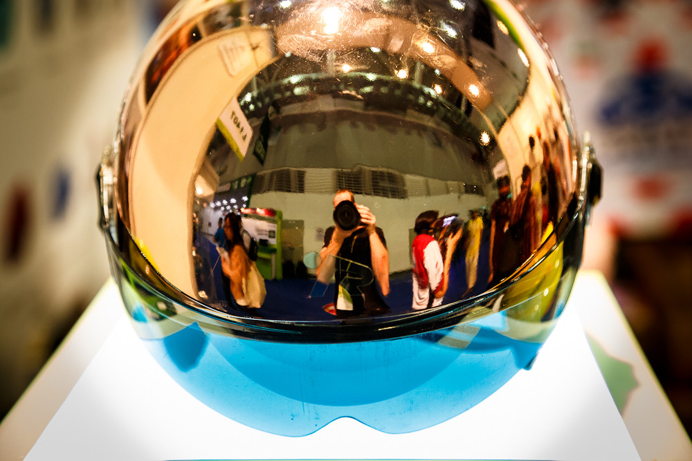 Chrome Dome Helmet - 2013 Taipei Bike Show Day 1 - DVO, X-Fusion, iXS, Evoc and more - Mountain Biking Pictures - Vital MTB
