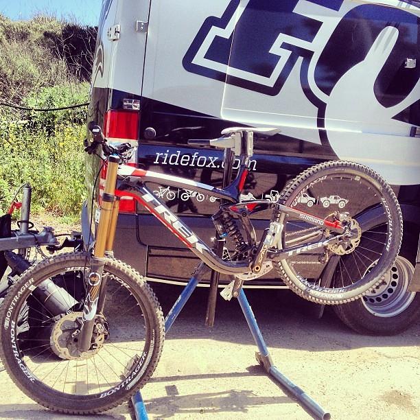 Brook MacDonald's 2013 Trek World Racing Session 9.9 Race Bike - sspomer - Mountain Biking Pictures - Vital MTB