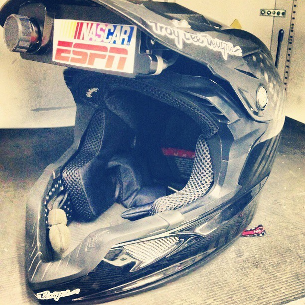 Enduro Fullface Future? Troy Lee Designs D3 Opened up for Nascar Pit Crew - sspomer - Mountain Biking Pictures - Vital MTB