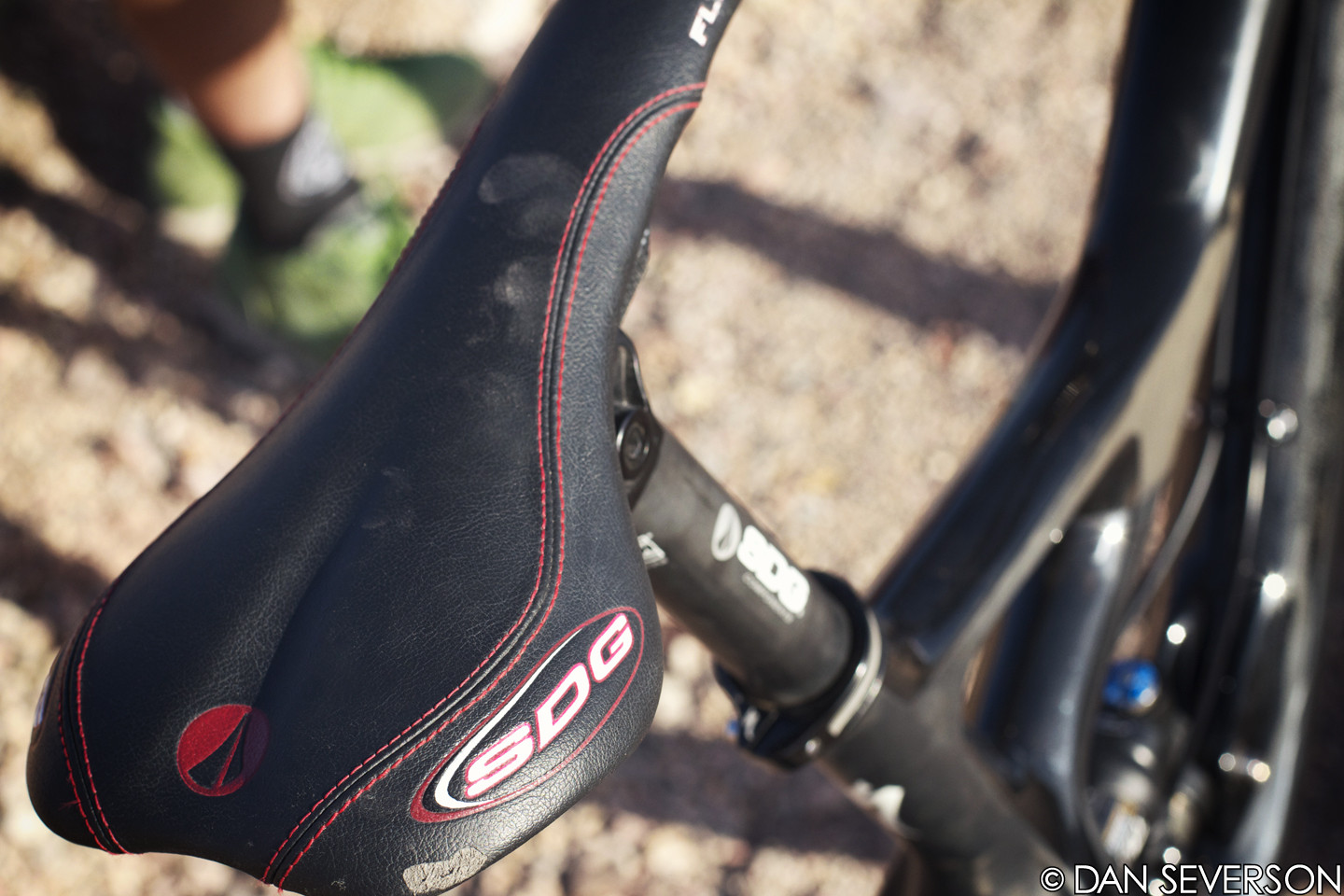 SDG I-Beam Saddle and Post - Aaron Gwin's 2013 Specialized S-Works Demo 8 Race Bike - Mountain Biking Pictures - Vital MTB