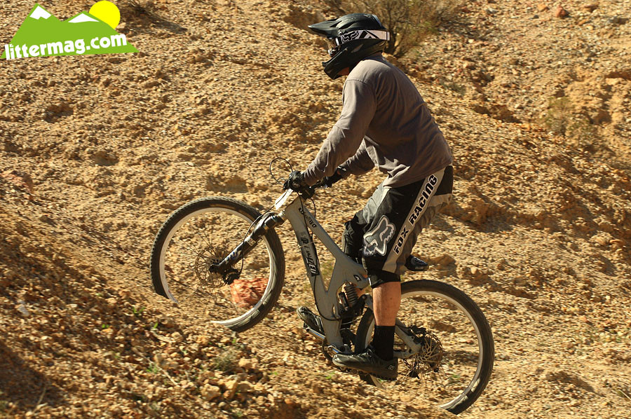 Specialized Big Hit bottom out - G-Out Project: Bootleg Canyon - Mountain Biking Pictures - Vital MTB