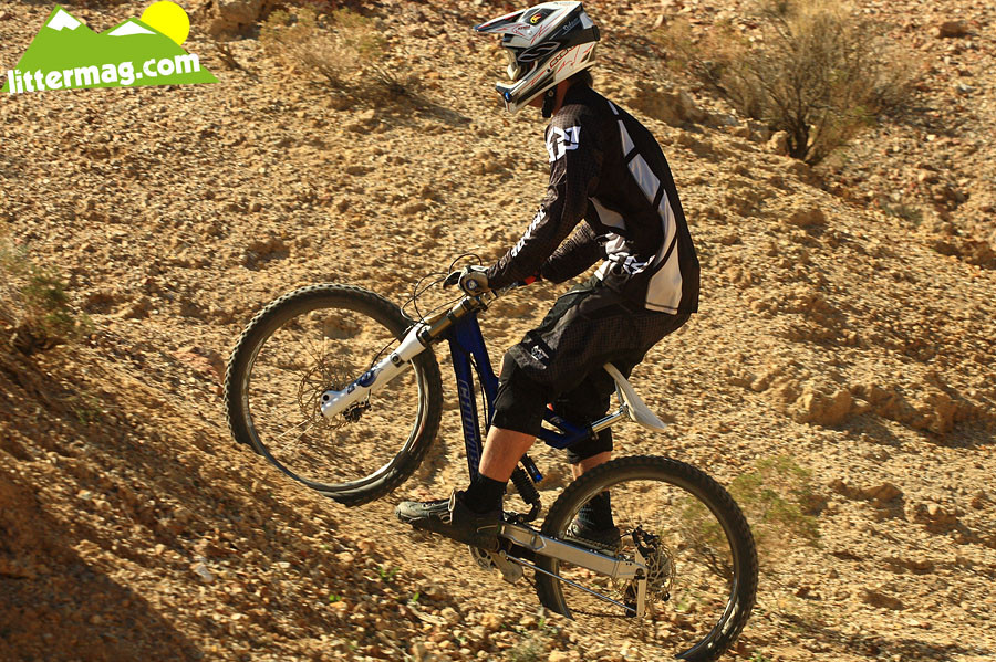 Chumba F5 bottom out - G-Out Project: Bootleg Canyon - Mountain Biking Pictures - Vital MTB