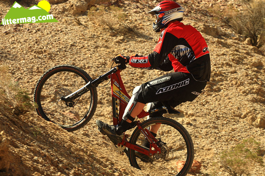Intense M1 bottom out - G-Out Project: Bootleg Canyon - Mountain Biking Pictures - Vital MTB