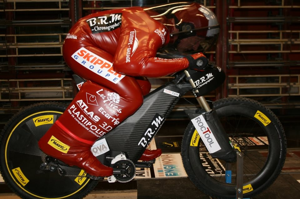 Custom World Speed Record Bike for Eric Barone - sspomer - Mountain Biking Pictures - Vital MTB