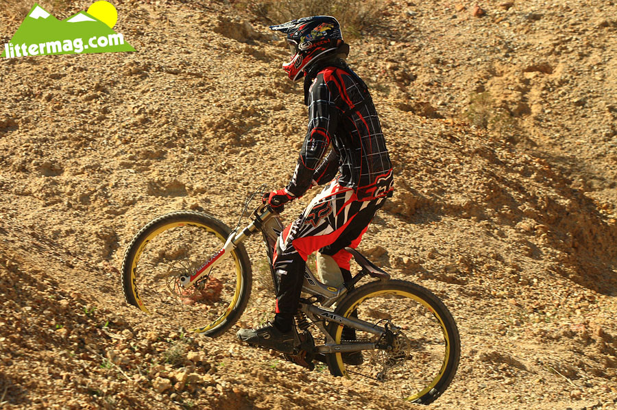 Intense M6 ottom out - G-Out Project: Bootleg Canyon - Mountain Biking Pictures - Vital MTB