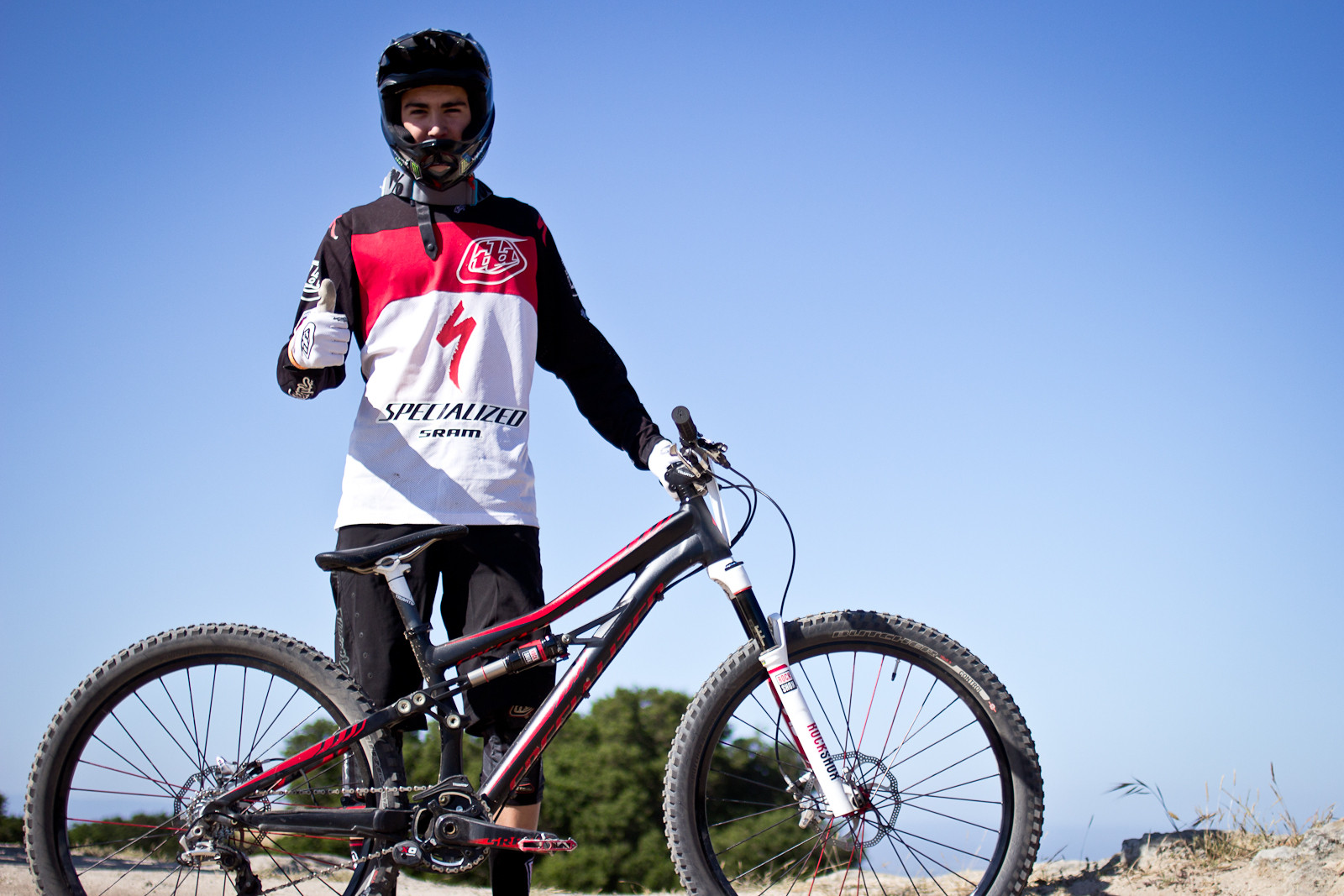 Walker Shaw's 2014 Specialized Enduro SX Slalom Bike - 2013 Sea Otter Pro Slalom Bikes - Mountain Biking Pictures - Vital MTB