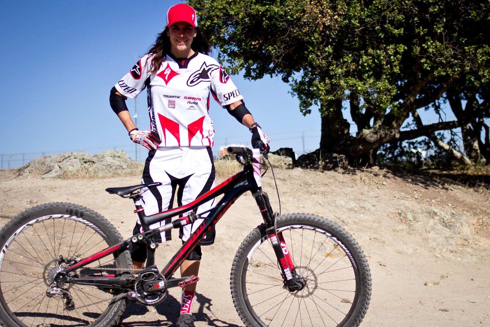 Anneke Beerten's 2014 Specialized Enduro SX Slalom Bike - 2013 Sea Otter Pro Slalom Bikes - Mountain Biking Pictures - Vital MTB