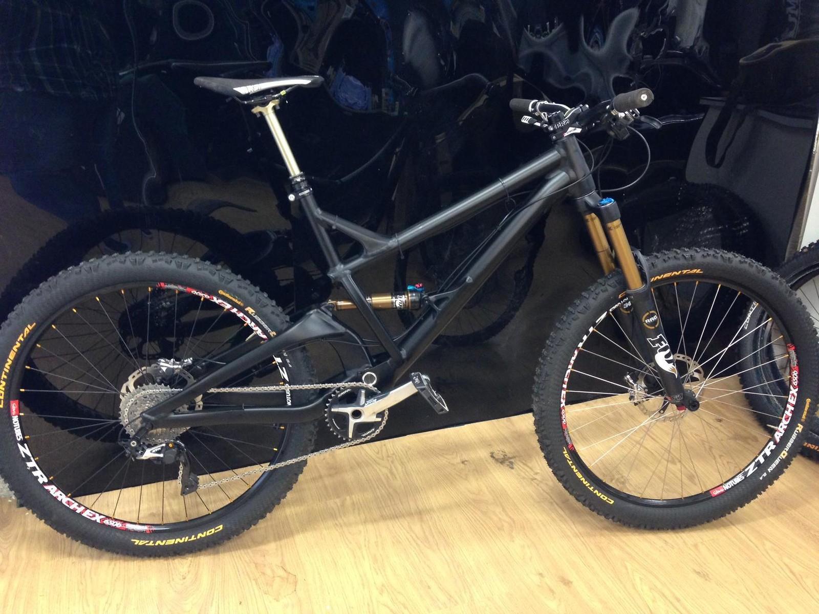 Dan Atherton's Prototype GT Enduro Race Bike - sspomer - Mountain Biking Pictures - Vital MTB