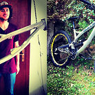 Prototype Bulls Downhill Bike with Wyn Masters