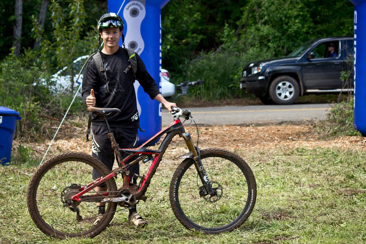 Pro Bikes from Hood River Oregon Enduro - Scott Papola's Specialized S-Works Enduro 29 SE - Pro Bike Checks: 2013 North American Enduro Tour Hood River Oregon Photo Gallery 1 - Mountain Biking Pictures - Vital MTB