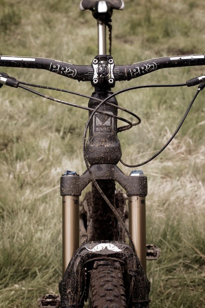 PRO Components Atherton Bars and Stem - More Pro Bike Checks: 2013 North American Enduro Tour Hood River Oregon Photo Gallery 2 - Mountain Biking Pictures - Vital MTB
