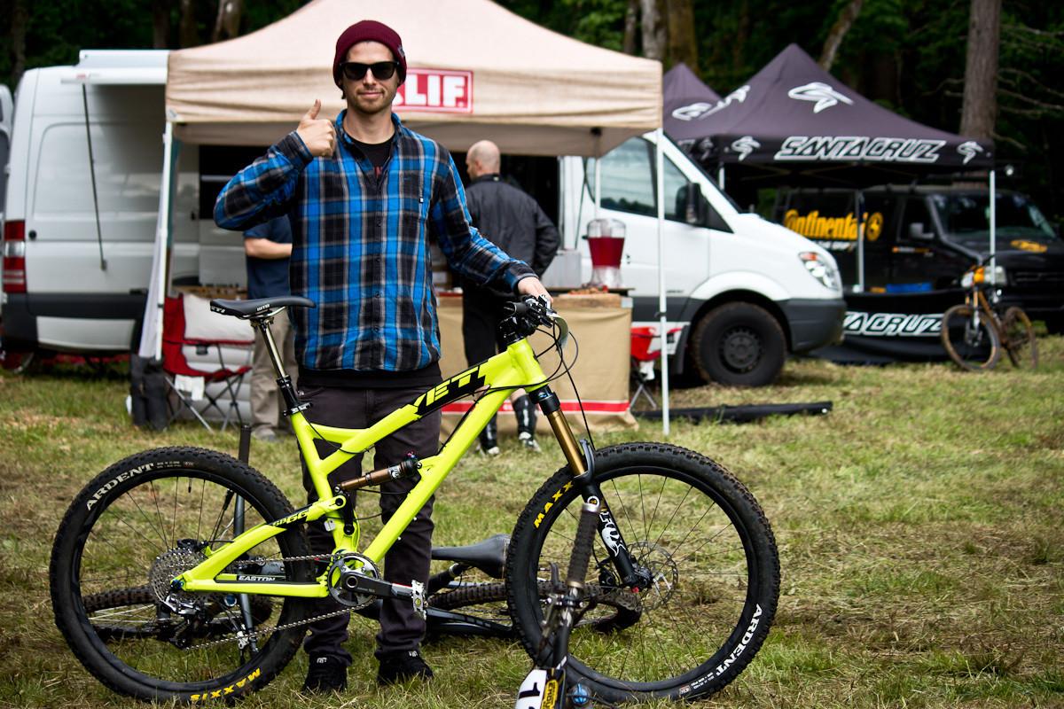 Allan Cooke's Yeti SB66 - Even More Enduro Bikes from 2013 Hood River Oregon Enduro - Mountain Biking Pictures - Vital MTB