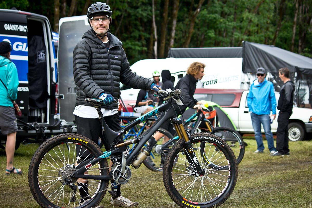 Mike West's Yeti SB66 Carbon - Even More Enduro Bikes from 2013 Hood River Oregon Enduro - Mountain Biking Pictures - Vital MTB